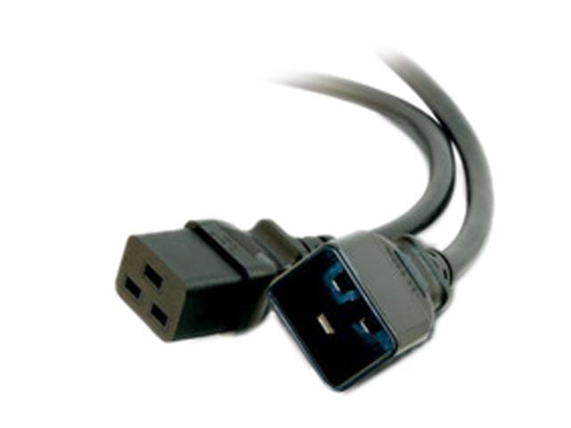 C2G Model 30821 6 ft. 14 AWG 250 Volt Power Extension Cord (IEC320C19 to IEC320C20)