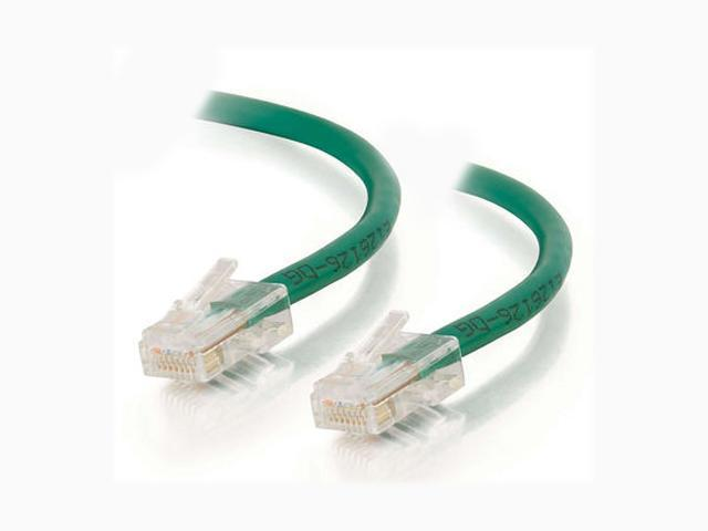 C2G 22692 10ft Cat5E 350 MHz Assembled Patch Cable - Green