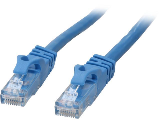 C2G 27140 1 ft. Cat 6 Blue Cat6 550MHz Snagless M-M Patch Cable - Blue