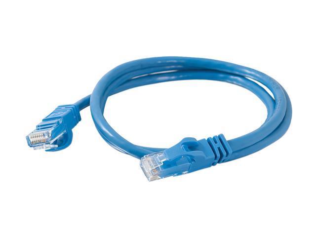 C2G 27141 3 ft. Cat 6 Blue Cat6 550MHz Snagless M-M Patch Cable - Blue