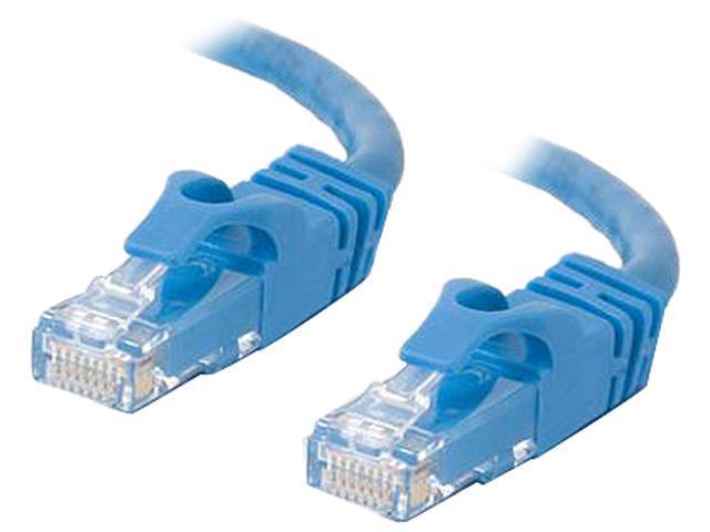 C2G 27144 14 ft. Cat 6 Blue Cat6 550MHz Snagless M-M Patch Cable - Blue