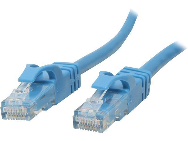 C2G 31341 5 ft. Cat 6 Blue Cat6 550MHz Snagless M-M Patch Cable - Blue