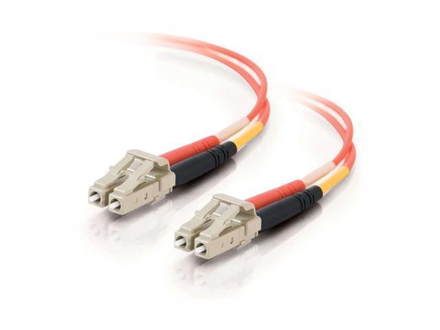 C2G 33036 10m LC/LC Duplex 50/125 Multimode Fiber Patch Cable - Orange