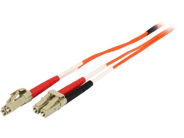 C2G 33174 3m LC/LC Duplex 62.5/125 Multimode Fiber Patch Cable - Orange