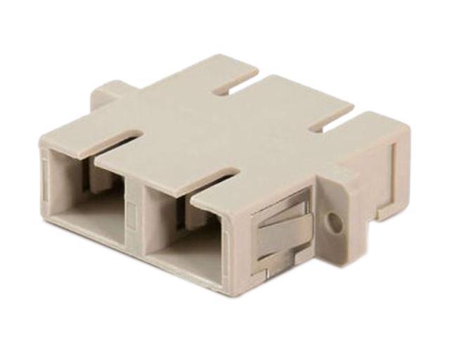 C2G 27098 SC Female to SC Female Duplex Fiber Adapter