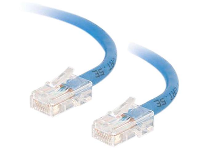 C2G 22703 25 ft. Cat 5E Blue Assembled Patch Cable