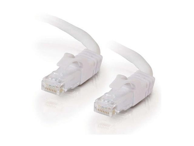 C2G 27160 1 ft. Cat 6 White Snagless Patch Cable