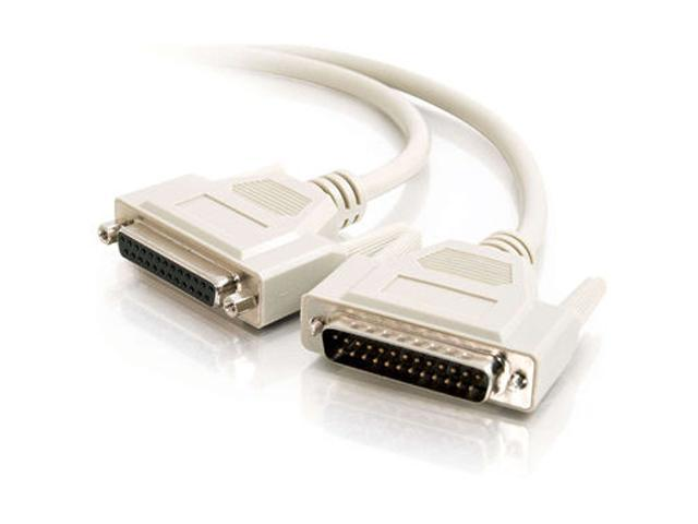 C2G Model 02660 21 - 25 ft. DB25 M/F Extension Cable