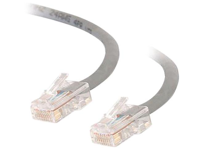 C2G 22672 3 ft. Cat 5E Gray 350 MHz Assembled Patch Cable