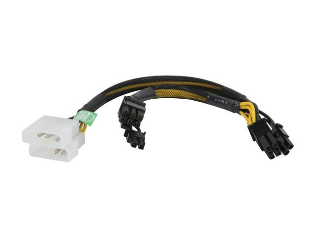 """Athena Power CABLE-MPCIE4628 14""""(8""""+6"""") Cable"""
