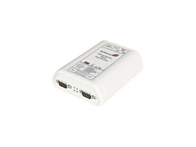 StarTech NETRS232_2 2 Port RS-232 Serial Ethernet IP Adapter (Device Server, Console Server)