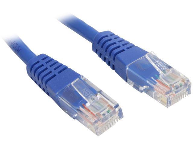 StarTech M45PATCH15BL 15 ft. Cat 5E Blue Network Cable