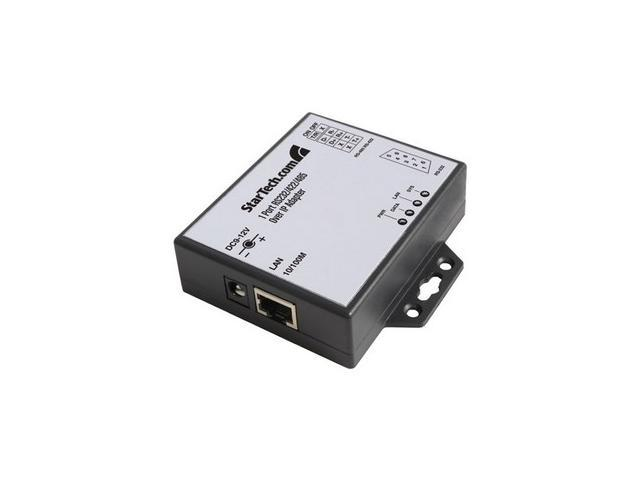 StarTech 1 Port RS-232/422/485 Serial over IP Ethernet Device Server