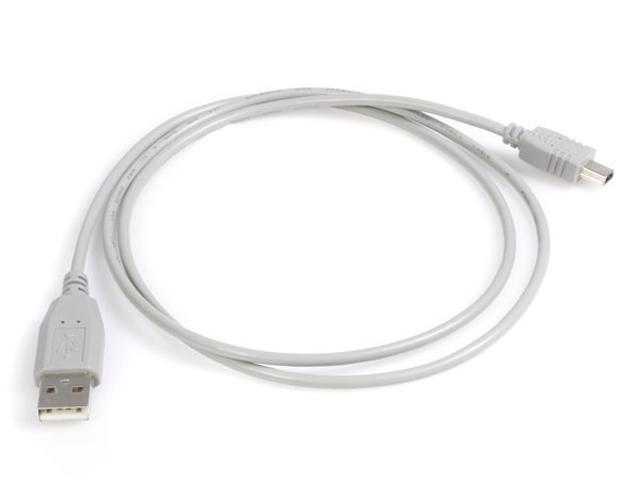 StarTech USB2HABM3 3 ft. Gray USB Cable for Canon, Sony, & Hewlett Packard Digital Camera