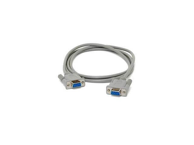 StarTech Model MXT100FF 6 ft. Straight Through Serial Cable - DB9 F/F F-F