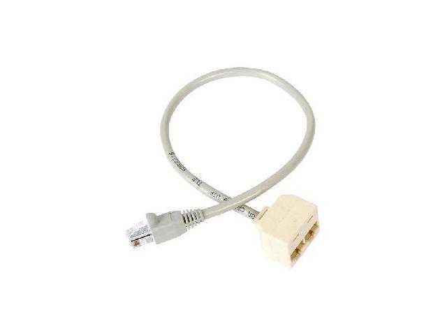 StarTech RJ45SPLITTER RJ45 Splitter Adapter Cable