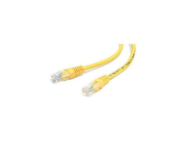 StarTech M45PATCH2YL 2 ft. Cat 5E Yellow Molded (350 MHz) UTP Patch Cable
