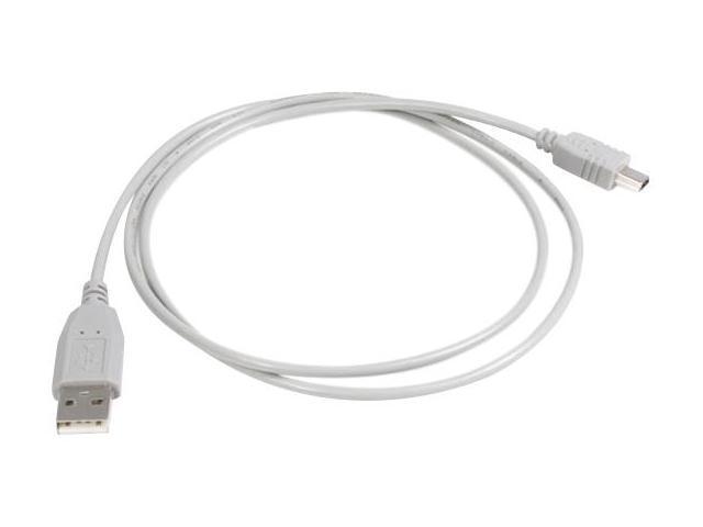 StarTech USB2HABM10 10 ft. Gray USB Cable for Canon, Sony, & Hewlett Packard Digital Camera
