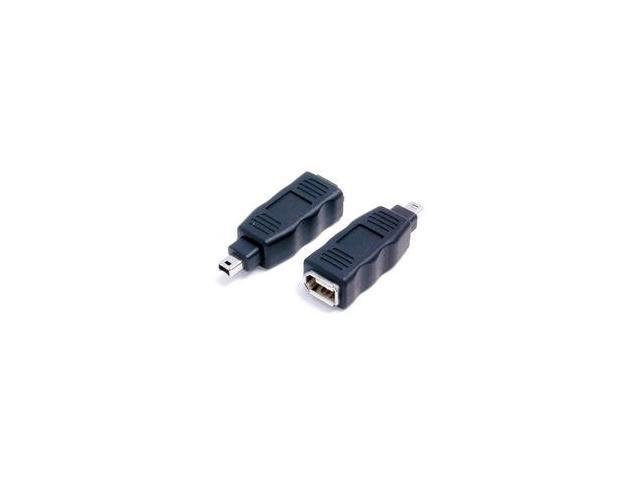 StarTech FIRE46MF IEEE-1394 FireWire Adapter 4 Pin - 6 Pin M/F