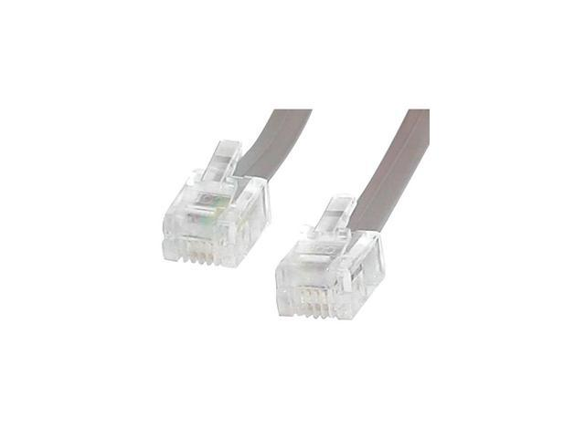 StarTech 25 ft. RJ11 4 Wire Phone Cable M/M Model RJ25FT