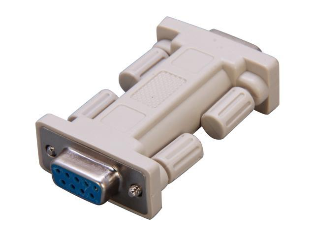 StarTech NM9FF DB9 RS232 Serial Null Modem Adapter - F/F