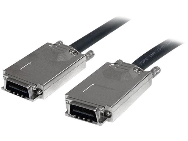"""StarTech Model SAS7070S100 39.37"""" Serial Attached SCSI SAS Cable - SFF-8470 to SFF-8470"""