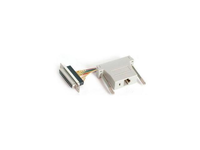 StarTech GC258FF DB25 to RJ45 Modular Adapter - F/F