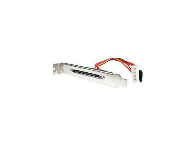 StarTech SATAPOWPLAT1 1 Port SATA and Power Slot Plate Adapter
