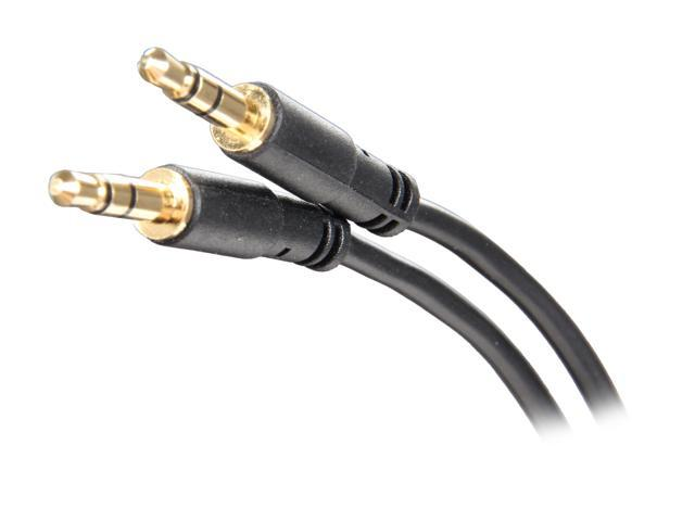 StarTech MU1MMS Slim 3.5mm Stereo Audio Cable - M/M M-M