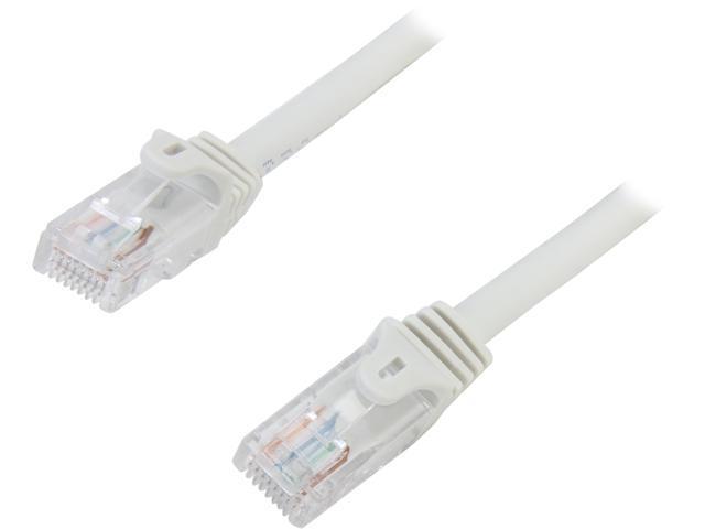 StarTech 45PATCH6GR 6 ft. Cat 5E Gray Snagless Cat5e UTP Patch Cable