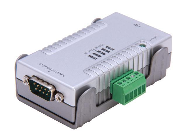 StarTech ICUSB2324852 2 Port USB to RS232 RS422 RS485 Serial Adapter with COM Retention
