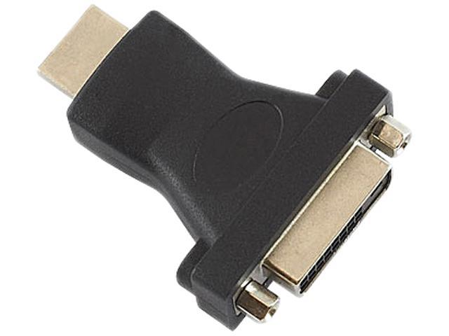 inland 8224 HDMI Male To Female DVI Gold Adaptor 1.4