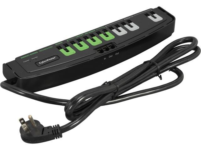 CyberPower CSP706TG 6 Feet 7 Outlets 2250 joule Surge Suppressor
