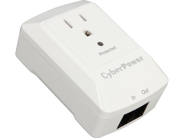 CyberPower CSP100TW 1 Outlets 900 Joules Surge Suppressor