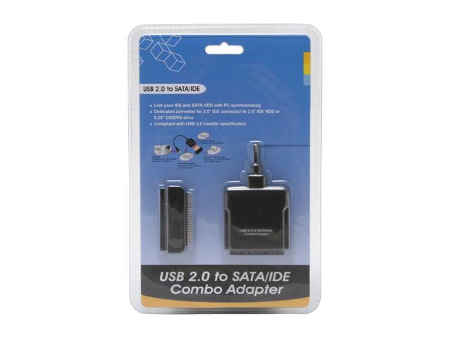 GWC AS1200 USB 2.0 to SATA/IDE Combo Adapter