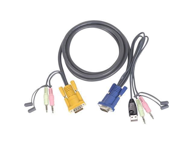IOGEAR 10 ft. USB KVM Cable for GCS1758/1732/1734 G2L5303U