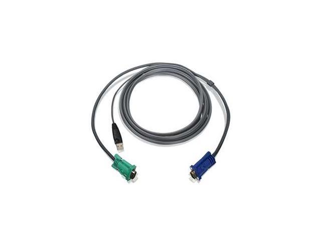 IOGEAR 10 ft. USB KVM Cable G2L5203U
