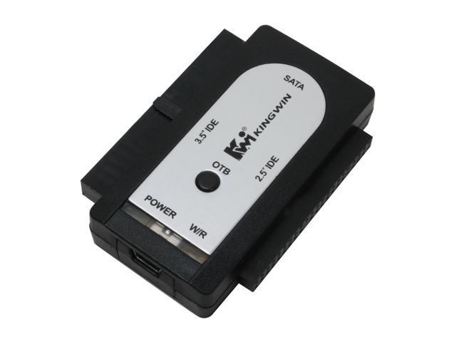 KINGWIN USI-2535 Hi-Speed USB 2.0 to SATA/IDE Drive Adapter