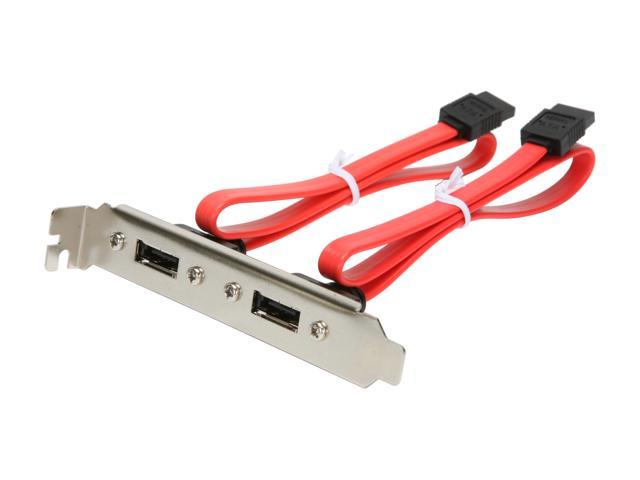 "KINGWIN ESAC-02 15.63"" eSATA PCI Bracket cable"
