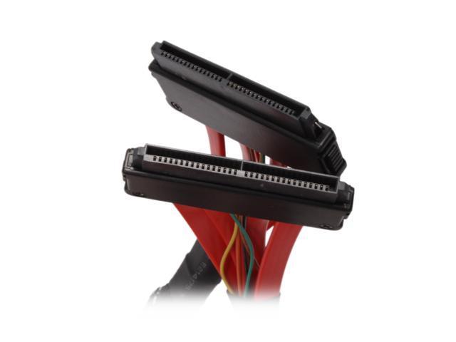 "KINGWIN Model SAS-02 20"" 32pin SAS to 32pin SAS Cable"