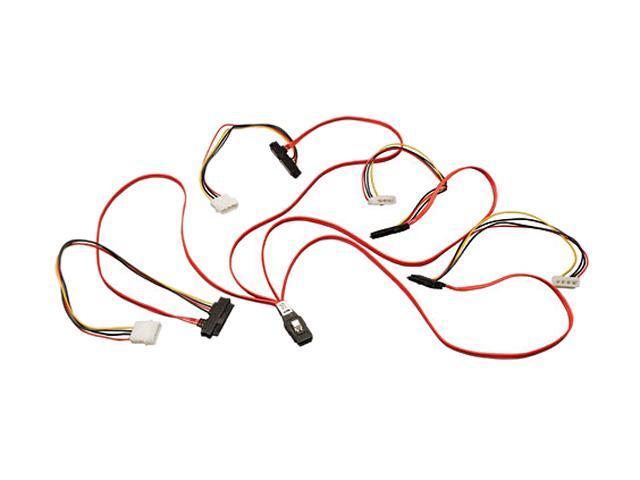 "Tripp Lite Model S504-24N 24"" Internal SAS Cable, 4-Lane Mini SAS SFF-8087 to 4 x SFF-8482"