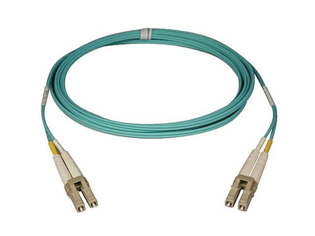 Tripp Lite N820-15M 50 ft. Aqua Duplex Fiber Patch Cable