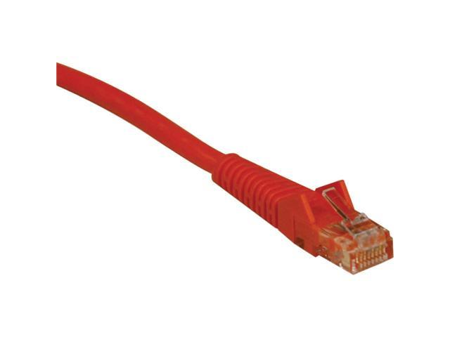 Tripp Lite 7-ft. Cat5e 350MHz Snagless Molded Cable (RJ45 M/M) - Orange