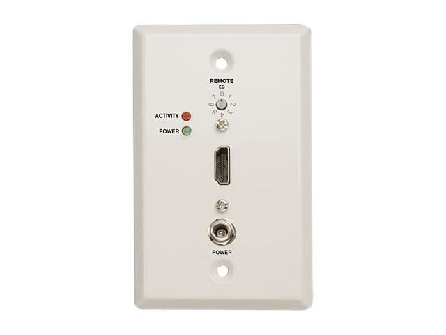 Tripp Lite B126-1A0-WP-1 HDMI Over Cat5 Active Extender Remote Receiver Wallplate