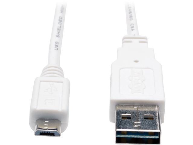 Tripp Lite UR050-003-WH USB Data Transfer/Power Cable
