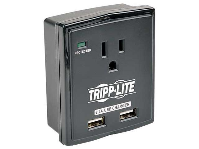Tripp lite sk10usb protect it 1 outlet surge protector for Bodendirect outlet