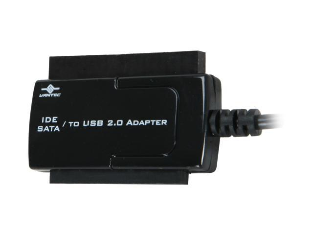 "Buy electronics adapters online - Vantec 2.5""/3.5\""/5.25\"" SATA/IDE to USB 2.0 Adapter - Model CB-ISATAU2"