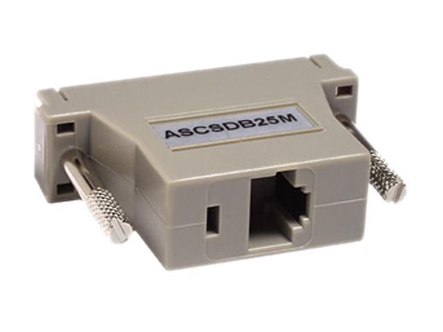 Raritan ASCSDB25M RJ-45(F) TO DB25(M) Serial Adapter