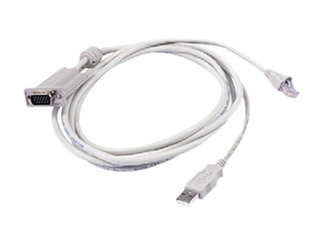 Raritan 0.6m, 2 ft. KVM UTP cable for Sun USB MCUTP06-USB