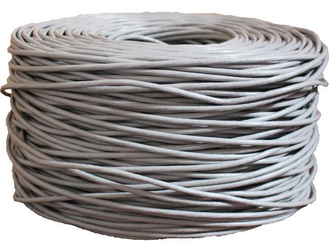 BYTECC C6E-1000GRAY 1000 ft. Bulk Network Cable